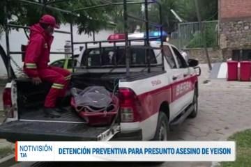 DETENCIÓN PREVENTIVA PARA PRESUNTO ASESINO DE YEISON
