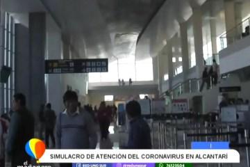 SIMULACRO DE ATENCIÓN DE CORONAVIRUS EN ALCANTARÍ