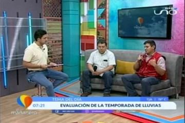 TEMA DEL DÍA: EVALUACIÓN DE LA TEMPORADA DE LLUVIAS