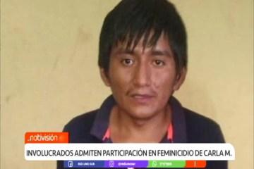 INVOLUCRADOS ADMITEN PARTICIPACIÓN EN FEMINICIDIO DE CARLA M.
