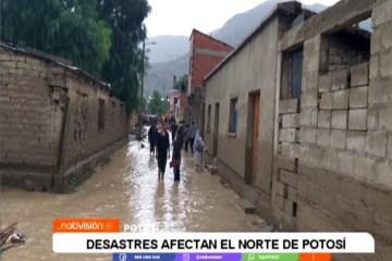 DESASTRES NATURALES AFECTAN EL NORTE DE POTOSÍ