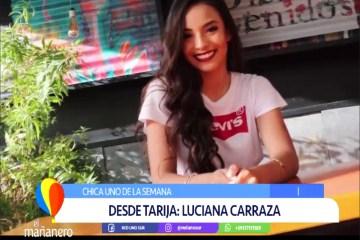 CHICA UNO: LUCIANA CARRANZA