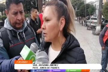 PADRES DE FAMILIA PIDEN SER DOTADOS DE INSUMOS EN LUGAR DE BONOS