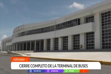 CIERRE COMPLETO DE LA TERMINAL DE BUSES