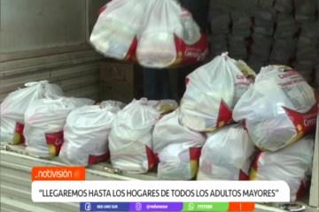 SUBGOBERNACIÓN ENTREGA LA CANASTA ALIMENTARIA A REZAGADOS