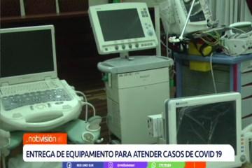 ENTREGA DE EQUIPAMIENTO PARA ATENDER CASOS DE COVID 19