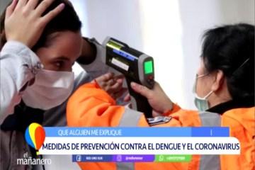 MEDIDAS DE PREVENCIÓN CONTRA EL DENGUE Y EL CORONAVIRUS