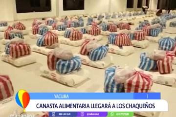 CANASTA ALIMENTARIA LLEGARÁ A LOS CHAQUEÑOS