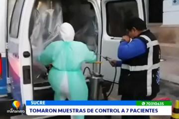 TOMARON MUESTRAS DE CONTROL A 7 PACIENTES