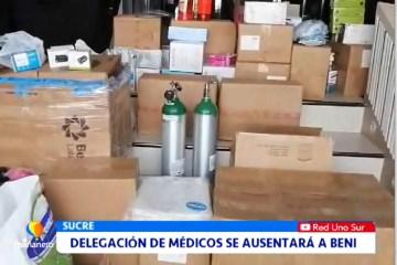 DELEGACIÓN DE MÉDICOS SE AUSENTARÁ A BENI