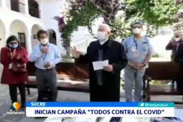"""INICIAN CAMPAÑA """"TODOS CONTRA EL COVID"""""""