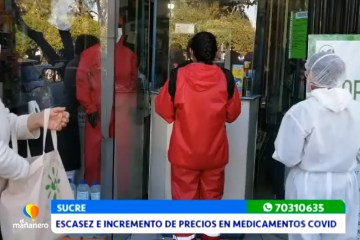 ESCASEZ E INCREMENTO DE PRECIOS EN MEDICAMENTOS PARA TRATAR COVID