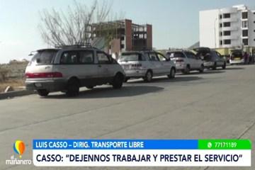 TRANSPORTE EXIGE RETORNAR A LOS VIAJES INTERDEPARTAMENTALES