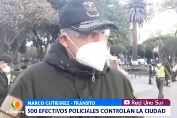 500 EFECTIVOS POLICIALES CONTROLAN EL ENCAPSULAMIENTO