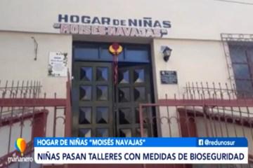HOGAR DE NIÑAS FUE FUMIGADO CON OZONO