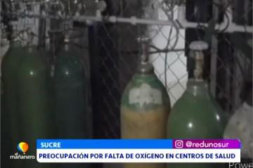 PREOCUPACIÓN POR LA FALTA DE OXÍGENO EN CENTROS DE SALUD