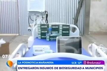 POSINOTICIA: ENTREGARON INSUMOS DE BIOSEGURIDAD EN MUNICIPIOS