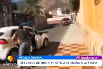 463 CASOS DE TRATA Y TRÁFICO DE ENERO A LA FECHA