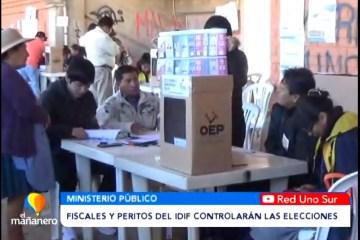 FISCALES Y PERITOS DEL IDIF CONTROLARÁN LAS ELECCIONES