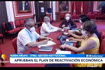 POSINOTICIA: APRUEBAN EL PLAN DE REACTIVACIÓN ECONÓMICA