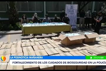 POSINOTICIA: FORTALECIMIENTO DE LOS CUIDADOS BIOSEGURIDAD EN LA POLICÍA