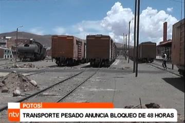 TRANSPORTE PESADO ANUNCIA BLOQUEO DE 48 HORAS