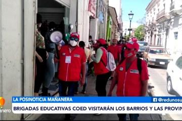 POSINOTICIA: BRIGADAS EDUCATIVAS DEL COED VISITARÁN BARRIOS Y PROVINCIAS