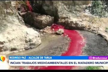 POSINOTICIA: INICIAN TRABAJOS MEDIOAMBIENTALES EN EL MATADERO MUNICIPAL