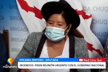 INCENDIOS: PIDEN REUNIÓN URGENTE CON EL GOBIERNO NACIONAL