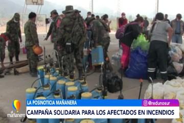 POSINOTICIA: CAMPAÑA SOLIDARIA PARA LOS AFECTADOS EN INCENDIOS