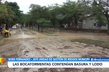 FUERTES LLUVIAS PROVOCARON INUNDACIONES DURANTE LA MAÑANA DEL LUNES