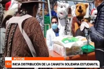 INICIA LA DISTRIBUCIÓN DE LA CANASTA SOLIDARIA ESTUDIANTIL