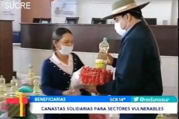POSINOTICIA: CANASTAS SOLIDARIAS PARA SECTORES VULNERABLES
