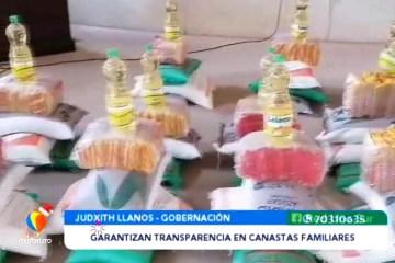 AUDITARÁN ENTREGA DE CANASTAS FAMILIARES