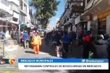 REFORZARÁN CONTROLES DE BIOSEGURIDAD EN MERCADOS