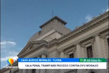 SALA PENAL TRAMITARÁ PROCESO CONTRA EVO MORALES