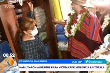 POSINOTICIA: HABILITARON ALBERGUE PARA VÍCTIMAS DE VIOLENCIA EN YOTALA