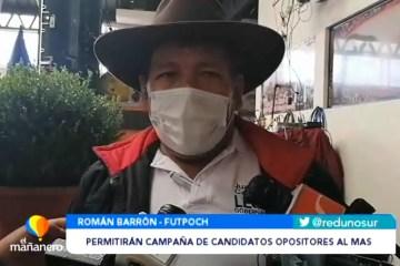 PERMITIRÁN CAMPAÑA DE CANDIDATOS OPOSITORES AL MAS