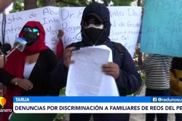 DENUNCIAS POR DISCRIMINACIÓN A FAMILIARES DE REOS DEL PENAL