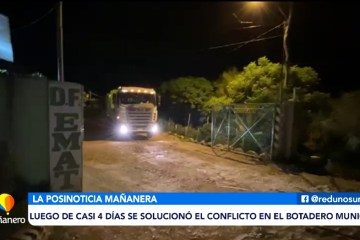 POSINOTICIA: SE SOLUCIONÓ EL CONFLICTO EN EL BOTADERO MUNICIPAL