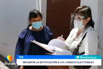 INICIARON LA NOTIFICACIÓN A LOS JURADOS ELECTORALES
