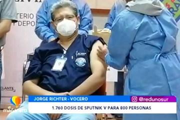 1.760 DOSIS DE VACUNA PARA 800 PERSONAS