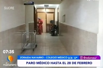 TEMA DEL DÍA: PARO MÉDICO HASTA EL 28 DE FEBRERO