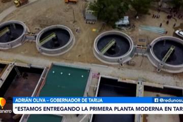 SE ENTREGÓ LA PLANTA DE TRATAMIENTO DE SAN BLAS