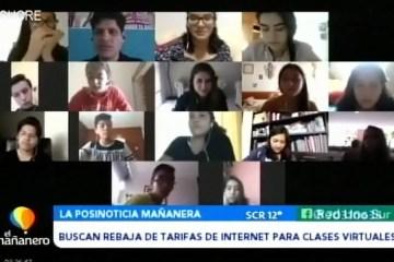 POSINOTICIA: BUSCAN REBAJAS PARA DE TARIFAS DE INTERNET PARA CLASES VIRTUALES