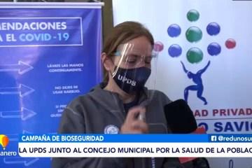 LA UPDS JUNTO AL CONCEJO MUNICIPAL POR LA SALUD DE LA POBLACIÓN