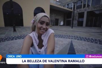 CHICA UNO DE LA SEMANA: VALENTINA RAMALLO