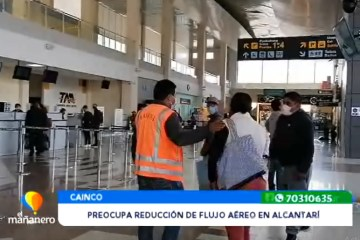 PREOCUPA LA REDUCCIÓN DE FLUJO AÉREO EN ALCANTARÍ