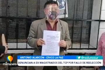 DENUNCIAN A EX MAGISTRADOS DEL TCP POR FALLO DE REELECCIÓN