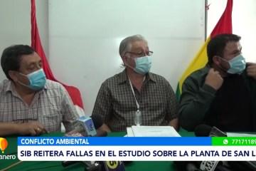 SIB REITERA FALLAS EN EL ESTUDIO SOBRE LA PLANTA DE SAN LUIS